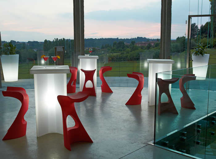 Sgabelli da esterno per bar sedia venice bar sedie polipropilene