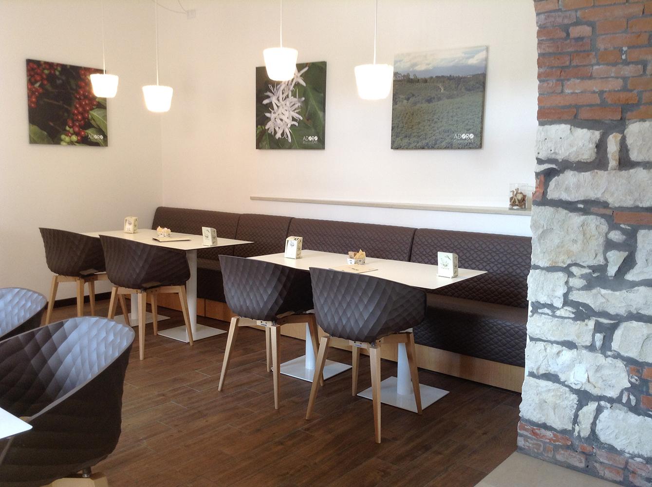 Panca Modulare Space per arredare bar pub e ristorati