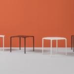 Sedie e tavoli in metallo