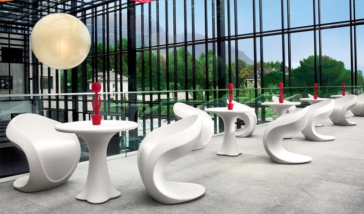 Il rotostampaggio per sedie dal design innovativo
