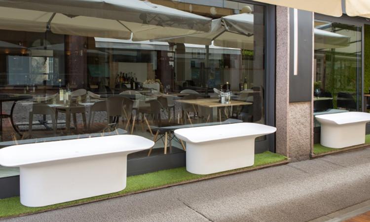 Panca luba da giardino o ambienti interni ideale per il for Ambienti esterni giardini