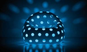 Poltrona luminosa Airball