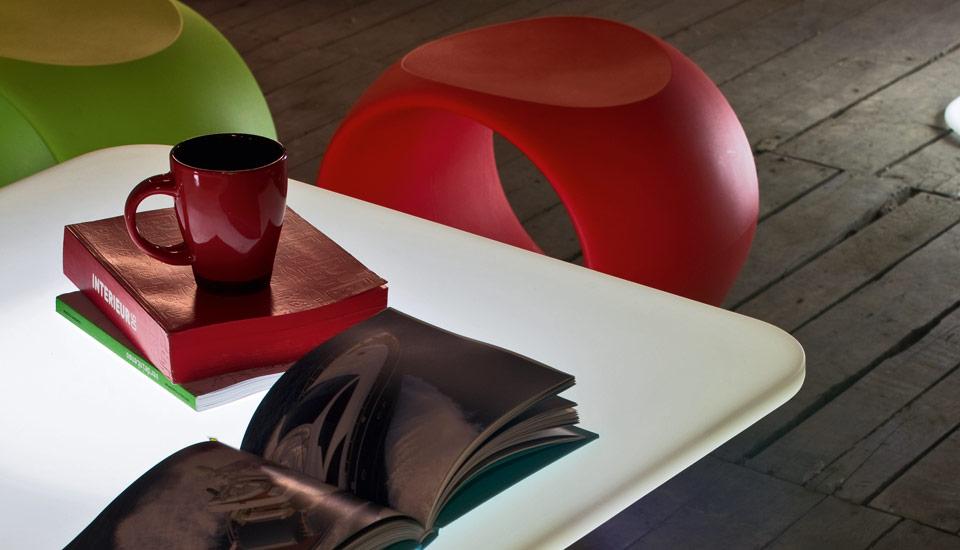 Tavolo bar luminoso modello milo per l arredo outdoor indoor dsedute - Tavolo luminoso per disegno ...