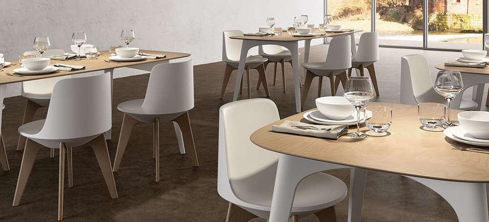 Tavoli bar e ristorante per arredare spazi interni ed for Tavoli sedie bar