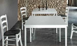 Sedia ristorante in legno con in finiture rovere