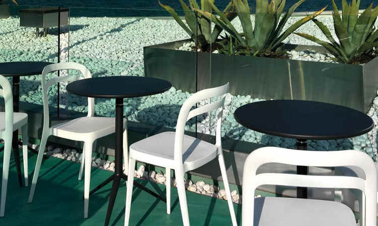Tavolo bar con piano fisso o reclinabile