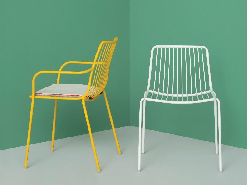 Sedie In Metallo Usate : Materiali utilizzati per costruire tavoli e sedie dsedute