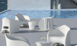 Poltrona outdoor e indoor in polietilene Goen