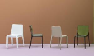 Sedia impilabile in policarbonato Blitz