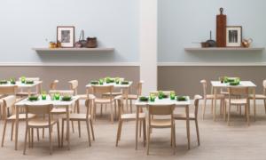 Sedie e tavoli per arredare un ristorante