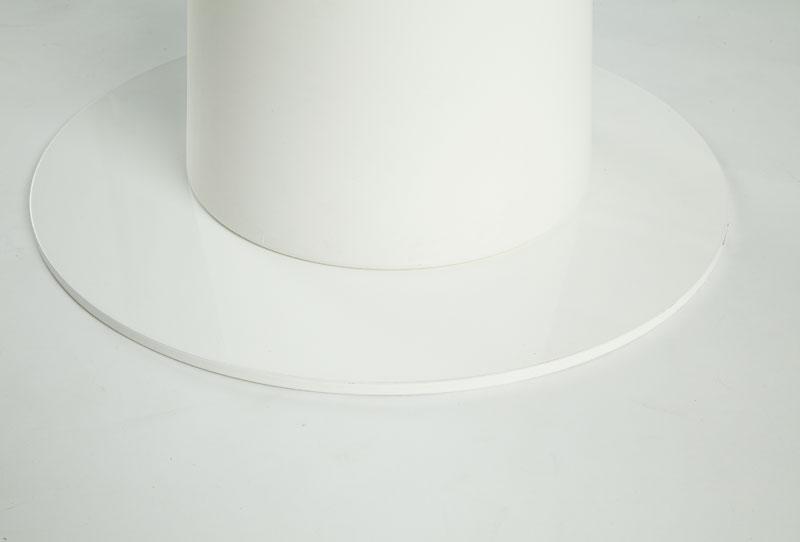 Tavolo in polietilene con piano in laminato