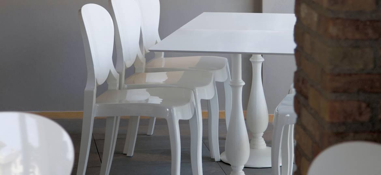 Tavolo bistrot in fusione di ghisa modello Liberty