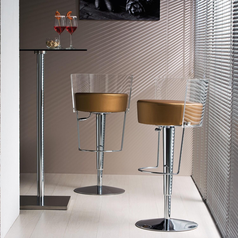 Sgabello bar elegante modello Bongo