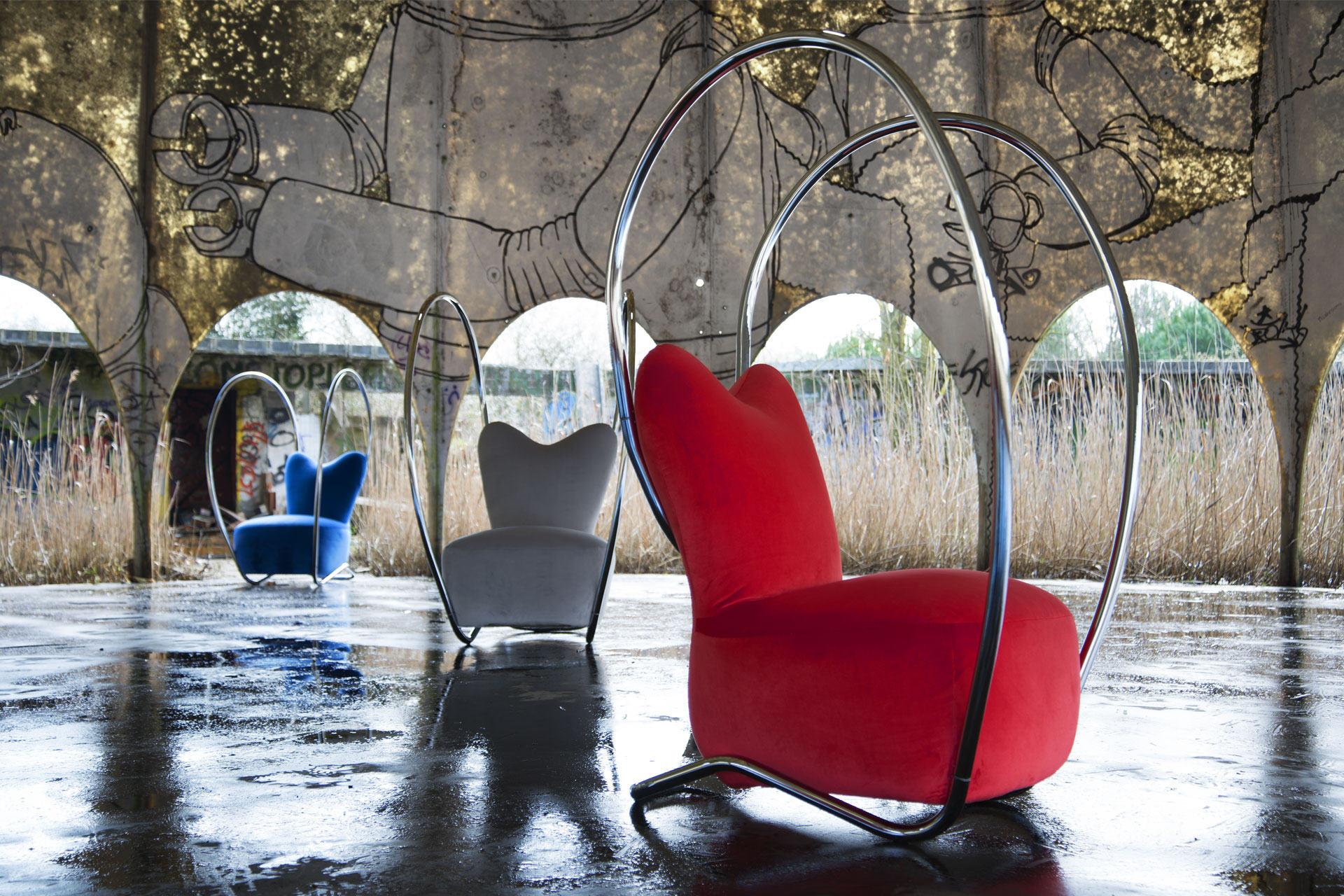 Poltrona imbottita Sexy chair