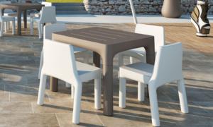 Tavolo con gambe smontabili Simple