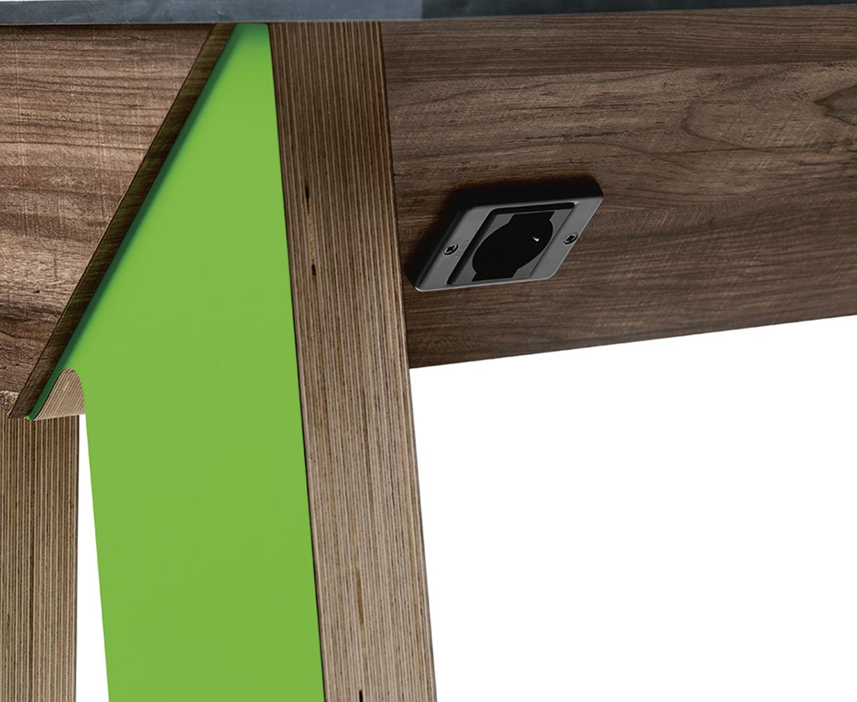 Tavolo multiposto in legno modello Link