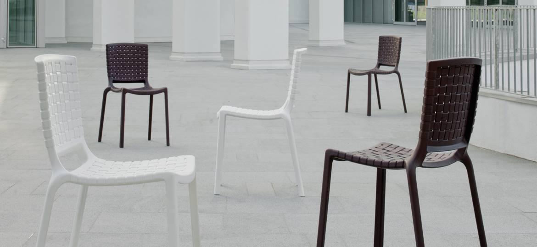 Sedia da esterno tatami per l 39 arredamento bar dsedute for Arredamento esterno bar
