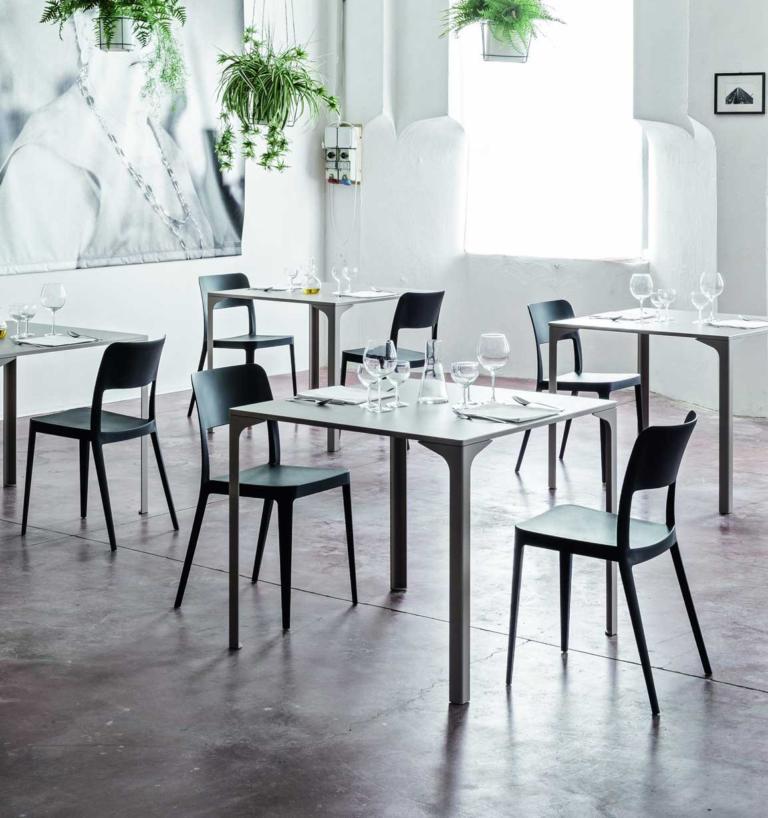 Sedia ristorante moderna modello Nenè
