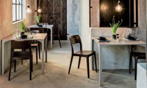 Sedia ristorante moderna Nenè