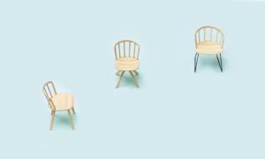 Sedia in massello di frassino NYM