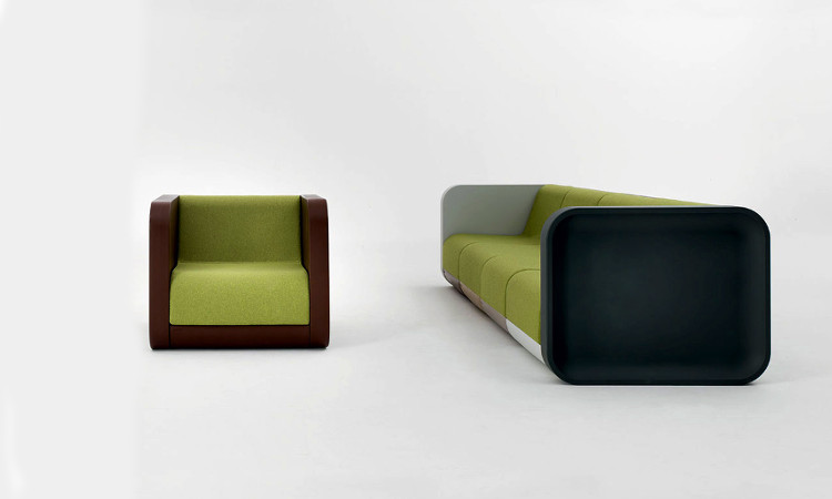 Divano modulare 2054 profilo