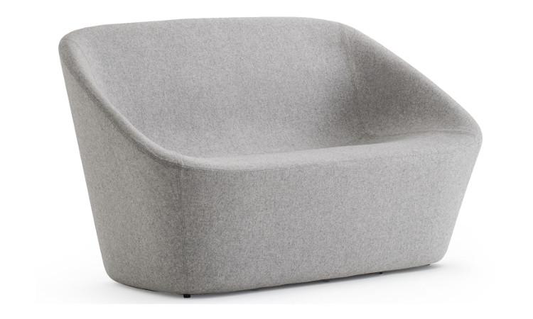 divano log colore grigio