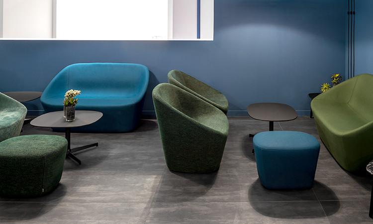 divano log colore verde