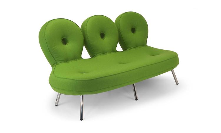 divano olo colore verde