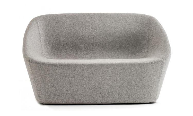 frontale divano log colore grigio