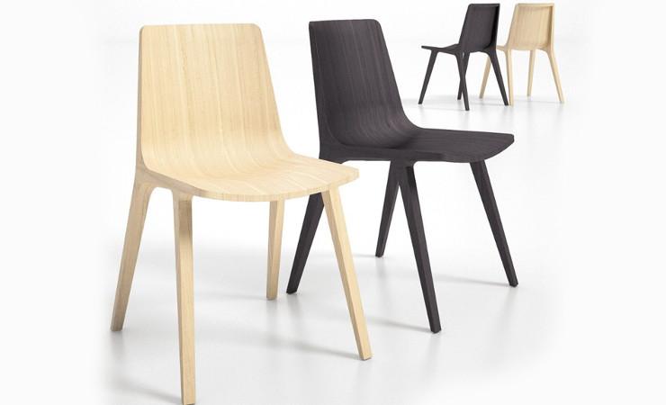 Sedia ristorante in legno modello Seame
