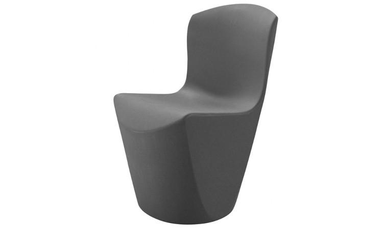 sedia zoe colore grigio