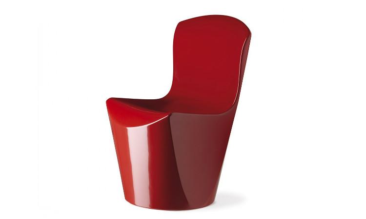 sedia zoe colore rosso