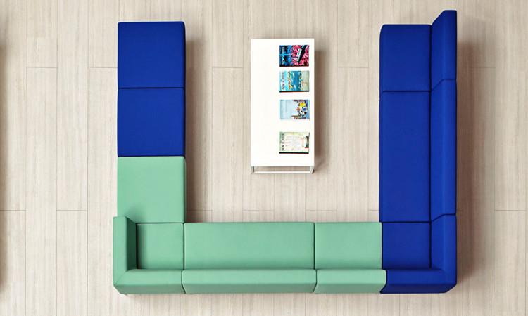 seduta modulare host vari colori