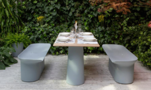 Panca Luba, da giardino o ambienti interni