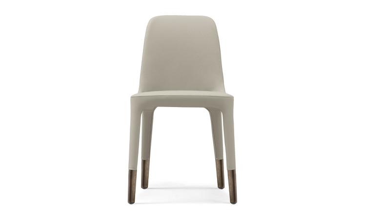Sedia ester con rivestimento in pelle o tessuto dsedute for Pelle per rivestimento sedie