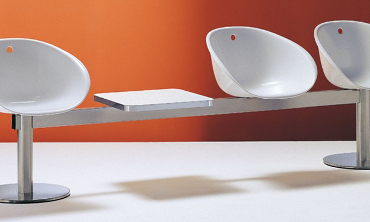 Panca con seduta a tre o quattro posti modello Gliss