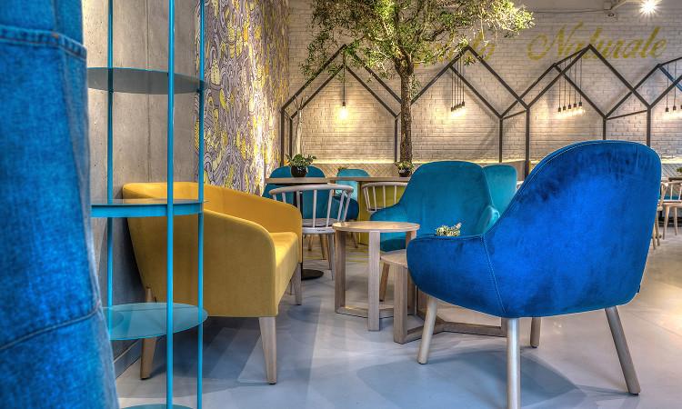 Poltrona lounge imbottita Myra