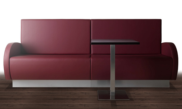 Panca Imbottita Design : Panca modulare imbottita per interni modello greta dsedute