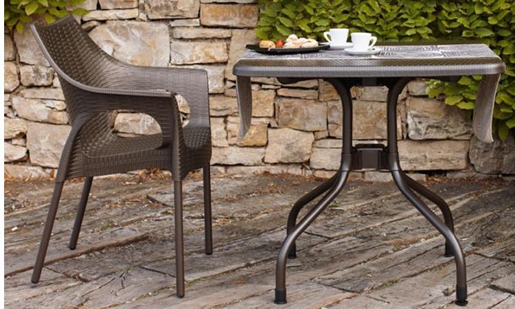 Tavolo con piano ribaltabile modello Olimpo
