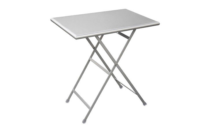 Tavolo pieghevole in metallo modello Arc en ciel