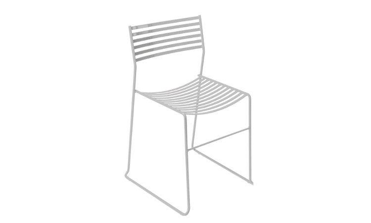 Sedia da esterno in acciaio verniciato modello Aero