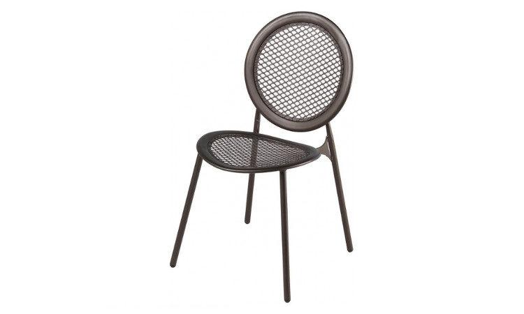 Sedia da esterno in metallo verniciato modello Antonietta