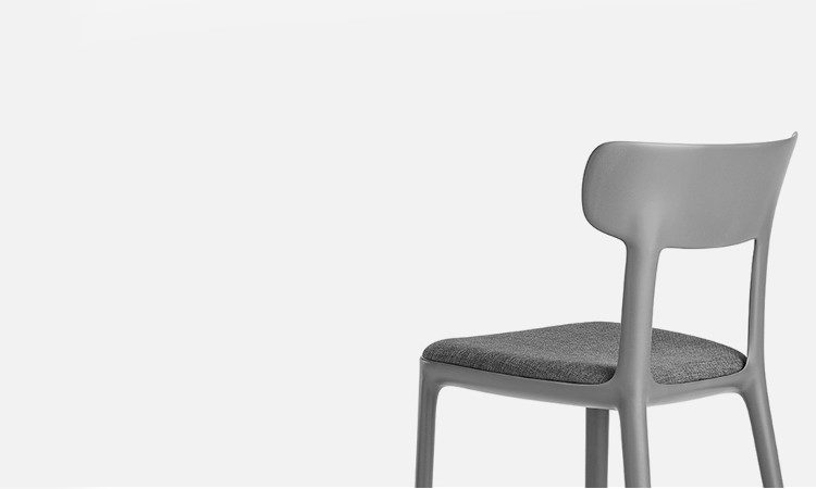 Sedia ristorante in polipropilene modello Canova