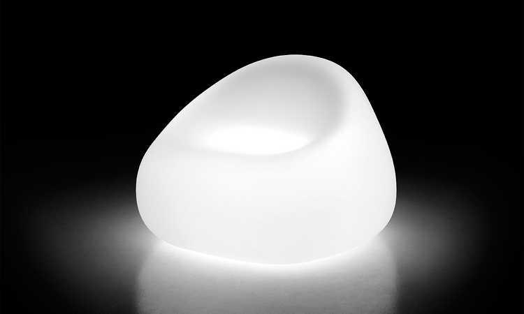 Poltrona bar Gumball versione luminosa
