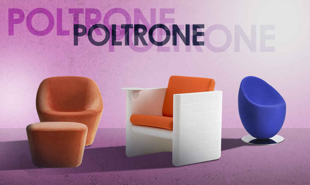 Poltrone bar per interni esterni
