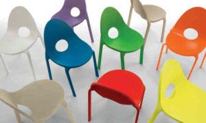 sedia Drop vari colori