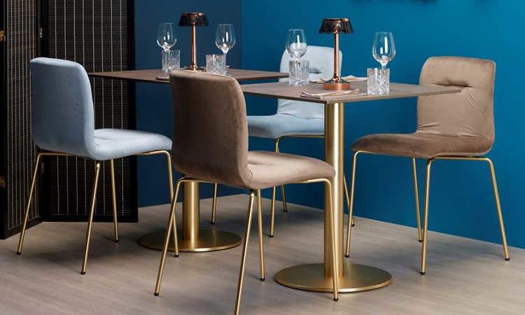 Sedia Imbottita Design : Alice pop sedia imbottita moderna per interni dsedute