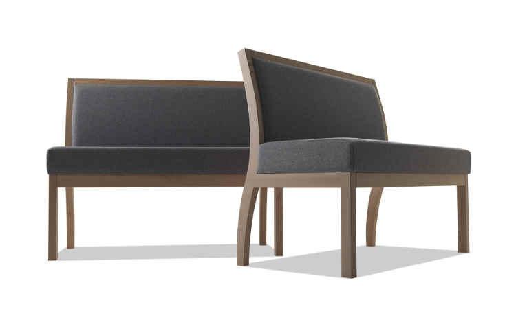 Tai, divano modulare imbottito per ambienti interni