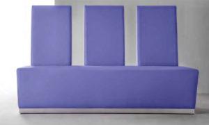 Aldente, panca modulare imbottita per spazi interni