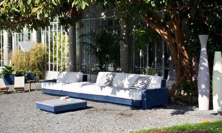 One, divano da giardino componibile